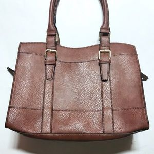NWOT Bueno Beautiful Simulated/Faux Brown Leather